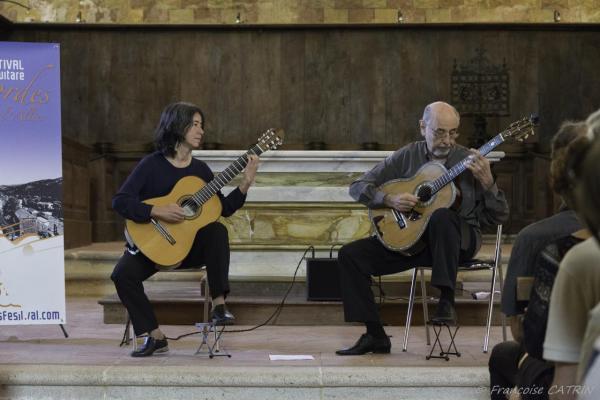 06 Festival de Chanteuges - Critina Azuma et Paulo Bellinati (1)