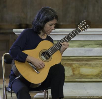 06 Festival de Chanteuges - Critina Azuma et Paulo Bellinati (12)