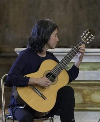 06 Festival de Chanteuges - Critina Azuma et Paulo Bellinati (8)