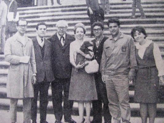 R.MALDONADO, E.BITETTI, A.SEGOVIA, M Livia de SAO MARCOS