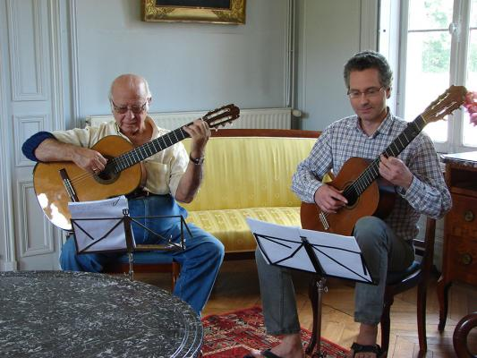 Christian de Chabot y Raul Maldonado