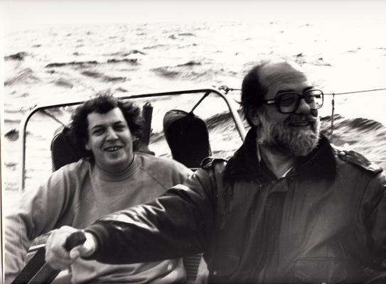 Robert COINEL y Raul MALDONADO en Marseille (Francia)