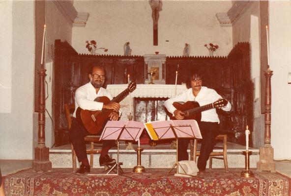 Raul Maldonado et Gérard Verba